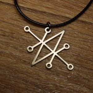 Sigil of Azazel Satanic / Pagan Necklace / Pendant